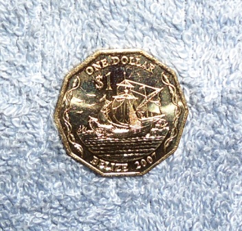 Belize One Dollar Coin
